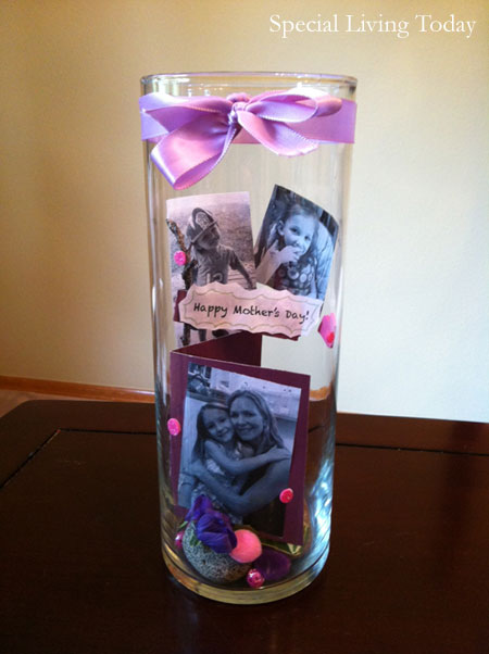 Mothers Day Memory Vase